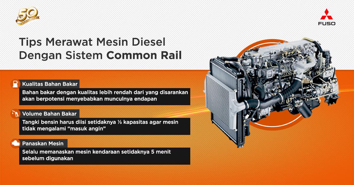 Tips Merawat Mesin Diesel